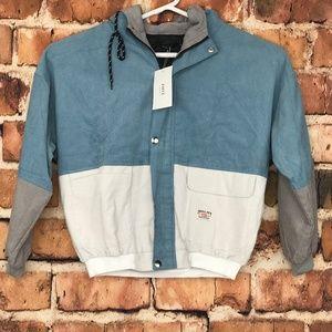 ZAFUL Women's Corduroy Hooded Jacket Vintage Med